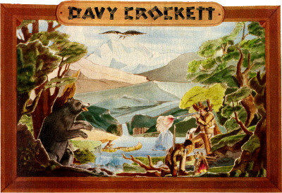 Davy Crocket's Wildwest-Panorama